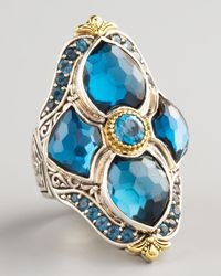 Konstantino | London Blue Topaz Figure8 Ring | Lyst