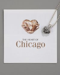 Lagos - Metallic Heart Of Chicago Necklace - Lyst