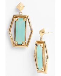 Melinda Maria | Blue Thorn Fenton Drop Earrings | Lyst