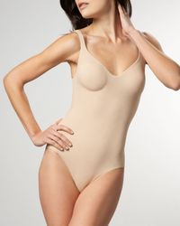 Wolford | Natural Mat De Luxe Forming Bodysuit | Lyst