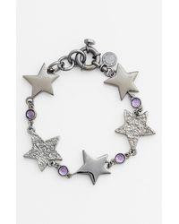 Marc By Marc Jacobs | Metallic Reluctant Stars Line Bracelet | Lyst