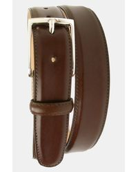 Martin Dingman   Brown Smith Leather Belt for Men   Lyst