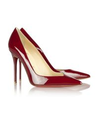 Christian Louboutin - Red Completa 100 Patentleather Pumps - Lyst