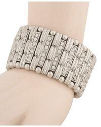 Forever 21 - Metallic Art Deco Bracelet - Lyst