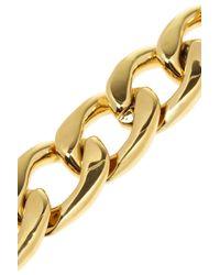 Juicy Couture | Metallic Bluxe Gold Plated Cubic Zirconia Bracelet | Lyst