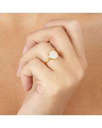 Monica Vinader Metallic Mini Luna Ring