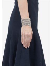 Philippe Audibert   Metallic Five-row Bead And Crystal Bracelet   Lyst