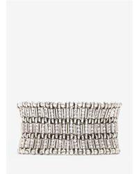 Philippe Audibert | Metallic Bead-and-stone Elasticated Bracelet | Lyst