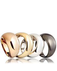 Astley Clarke Metallic Gold Astley Bombe Ring