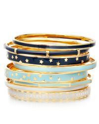 Astley Clarke | Blue Midnight Bamboo Bangle | Lyst