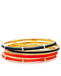 Astley Clarke - Blue Midnight Bamboo Bangle - Lyst
