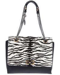 Lanvin | Multicolor Zebra Print Shoulder Bag | Lyst