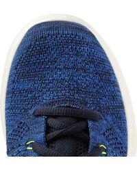 Nike | Blue Flyknit Chukka Sneakers for Men | Lyst