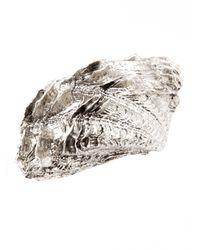 Pluie - Metallic Seashell Hair Clip - Lyst