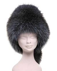 Borsalino Gray Murmasky Fur Hat
