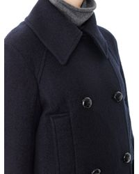 Étoile Isabel Marant - Blue Clover Doublebreasted Peacoat - Lyst
