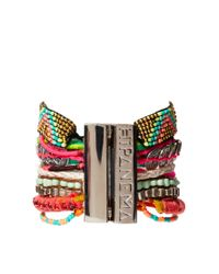 Hipanema | Multicolor Mexico Friendship Bracelet | Lyst