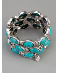 Philippe Audibert - Metallic Pawnee Turquoise Cuff - Lyst