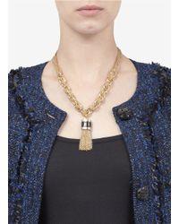 St. John - Metallic Chunky-chain Necklace - Lyst