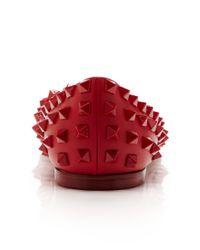 Valentino - Red Rouge Ballerina Flat - Lyst