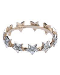 Zoe & Morgan | Metallic Eternity Diamond Star Ring | Lyst