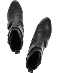 See By Chloé Black Leather Ankle Boots