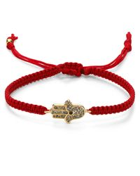 Tai | Red Agate Beaded Slide Bracelet | Lyst