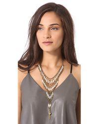 Vanessa Mooney White Ancient Highway Necklace