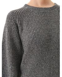 Étoile Isabel Marant - Gray Barett Ribbed Knit Sweater - Lyst