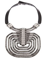 Lanvin | White Dedale Collar Necklace | Lyst
