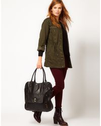 Pepe Jeans Black Whitfield Large Tote Bag