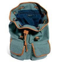 River Island Blue Backpack for men