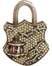 Sevan Biçakci - Yellow Diamond Large Birdhouse Padlock - Lyst