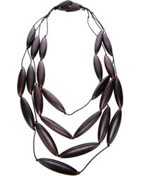 Antonella Filippini - Black Beaded Necklace - Lyst