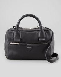 Marc Jacobs Box Bag Leather Crossbody Black