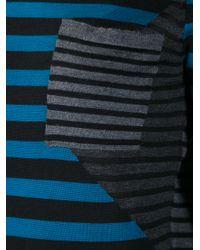 Proenza Schouler Gray Striped Sweater