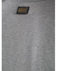 Dolce & Gabbana Gray Basic Round Neck Tshirt for men