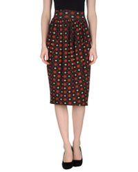 Stephan Janson - Gray 3/4 Length Skirt - Lyst
