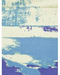 Vivienne Westwood Blue New Flag Scarf