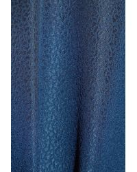 A.P.C. - Blue Silk and Merino Wool Dress - Lyst
