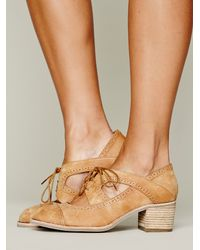 Jeffrey Campbell Brown Gatsby Oxford