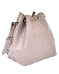 Louis Vuitton Purple Louis Vuitton Vintage Epi Leather Noe Petit Lilac Shoulder Bag