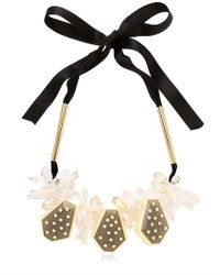 Marni - Black Winter Edition Necklace - Lyst