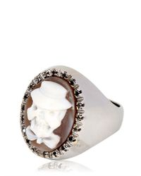 Amedeo - Brown Renaissance Collection Ring for Men - Lyst