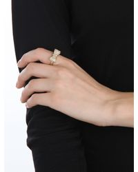 BaubleBar | Metallic Gold Bow Ring | Lyst