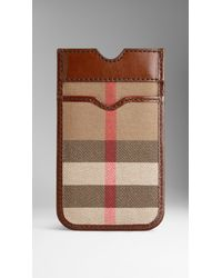 Burberry Check Iphone Case