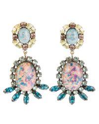 DANNIJO Pink Paz Earrings
