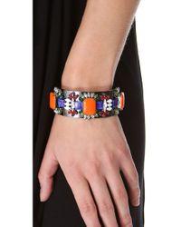 DANNIJO - Metallic Rigby Cuff Bracelet - Lyst