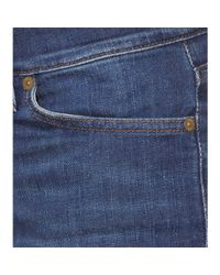 7 For All Mankind Blue Roxanne Skinny Jeans