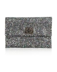 Anya Hindmarch | Gray Valorie Clutch | Lyst